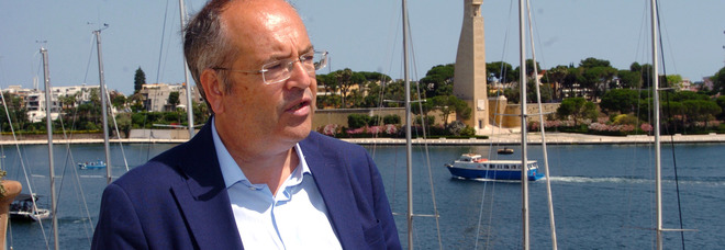Il sindaco di Brindisi Riccardo Rossi