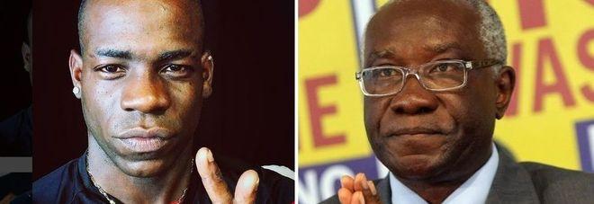 Balotelli contro senatore della Lega Iwobi: vergogna Lui: pensi al calcio