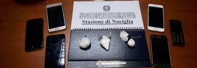 In trasferta per vendere cocaina a un professionista: arrestati due brindisini
