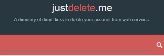 Privacy, arriva Justdelete.me: il sito che ti aiuta a cancellarti dal web (senza fare miracoli)
