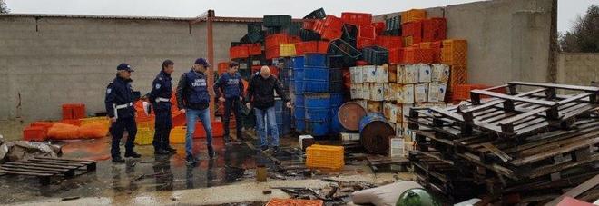 Adelchi, nella struttura sotto sequestro una discarica di rifiuti speciali