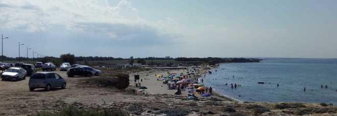 La spiaggia di Giancola, a nord di Brindisi