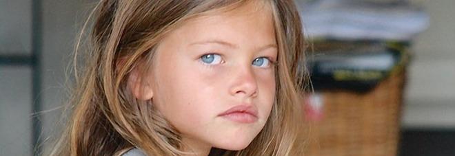 """Thylane Blondeau, """"la bambina più bella del mondo"""", ora fa la modella"""