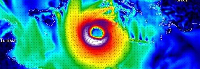 L'uragano «Medicane» sta arrivando, l'Italia trema: «La più violenta tempesta di sempre del Mediterraneo»