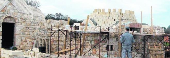 Costruzioni nuove spacciate per ristrutturazioni: sequestri nella Valle dei Trulli