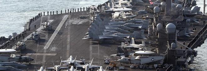 La flotta Nato è pronta all'attacco: missili dalle navi francesi e inglesi