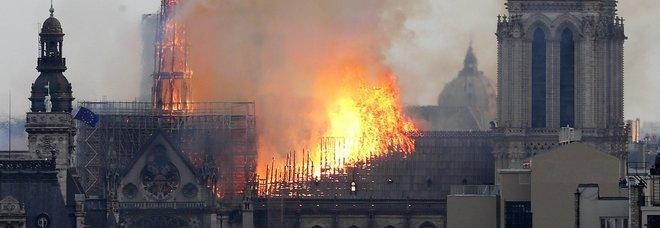 Il dramma dell'incendio di Notre-Dame