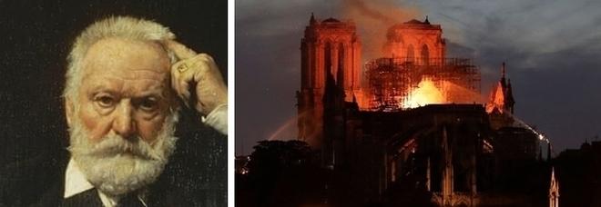 Notre Dame, la terribile profezia di Victor Hugo: «C'era una grande fiamma tra i due campanili»