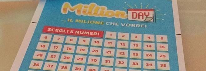 Million Day, estrazione di oggi giovedì 10 gennaio 2019: tutti i numeri vincenti