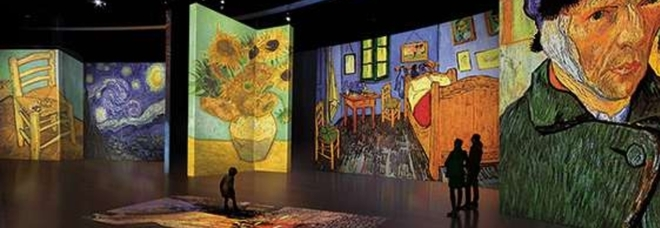 Van Gogh, a passeggio nei quadri dell'artista