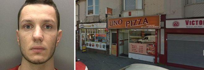 Assunto per pietà in una pizzeria, romeno 22enne uccide il suo capo il primo giorno di lavoro e gli ruba i soldi dell'incasso
