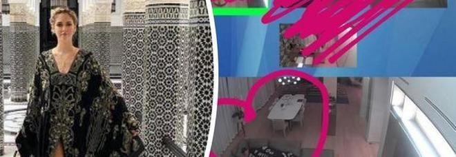 Chiara Ferragni a Marrakech, ma spia a distanza il suo Fedez