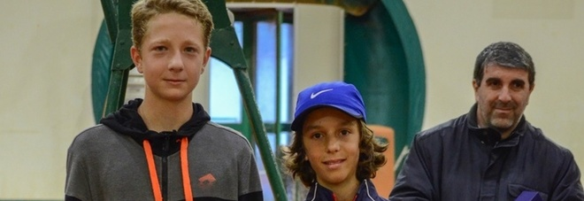 Vittoria del Circolo tennis agli internazionali under 14