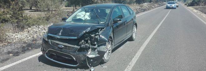 Tamponamento a catena:  le auto prendono fuoco