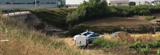 La zona in cui è stato trovato il cadavere