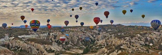 Il mondo in mongolfiera, dalla Cappadocia al Colorado