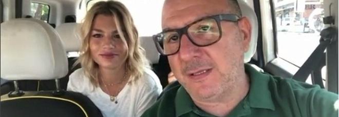 Emma Marrone duetta con un tassista romano a Fiumicino: il video fa il record di clic