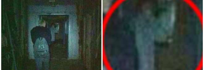 Fantasma nell'ospedale abbandonato (Mail Online)