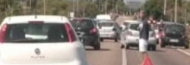 Tamponemento a catena a Porto Cesareo: coinvolte tre auto