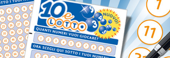 """Vincita record al """"10eLotto"""": gioca 2 euro, indovina tutti i numeri e vince 2,6 milioni di euro"""