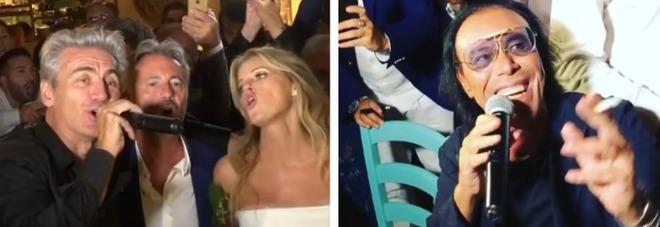 """Formentera, si sposa il """"boss"""" della musica: Venditti, Ligabue e Baglioni cantano per gli sposi"""
