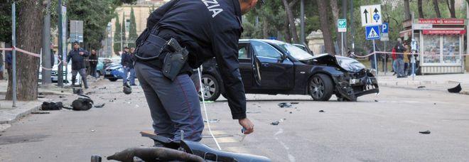L'incidente su viale Marche, lo scorso dicembre