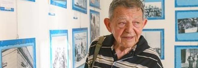 L'emozione di Ytzhak: dopo 70 anni torna nel luogo che lo accolse durante il nazismo
