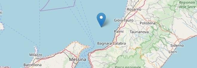 Terremoto, forte scossa 4.2 a Reggio Calabria: avvertita anche a Messina