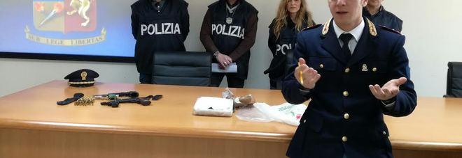 Con un chilo di coca nel parcheggio: arrestato 54enne
