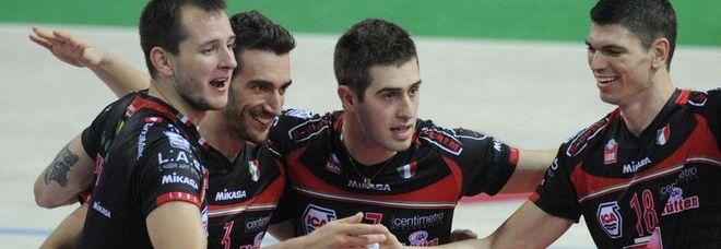 Lube sbanca Piacenza nel duello Champions