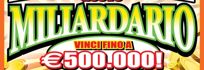 Gratta&vinci d'oro in Puglia: compra un tagliando e vince 500mila euro