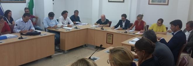 Una delle commissioni consiliari di Palazzo Carafa