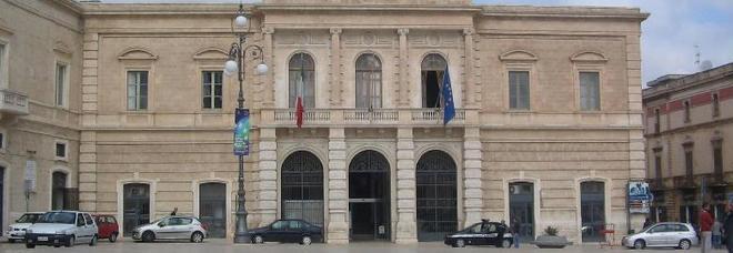 Il municipio di Fasano