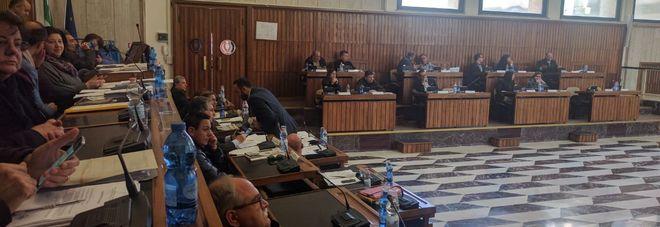 La riunione del consiglio comunale