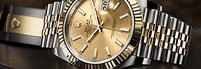 Autoriciclaggio con i Rolex Il gioielliere ai domiciliari