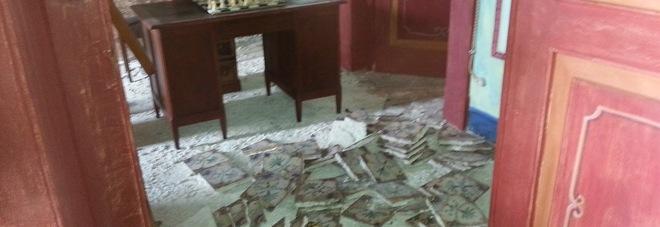 """Scempio al """"Museo spartano"""", rubato il pavimento di casa Beaumont Bonelli"""