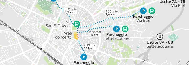 Battiti, ecco come muoversi a Lecce per l'intera serata