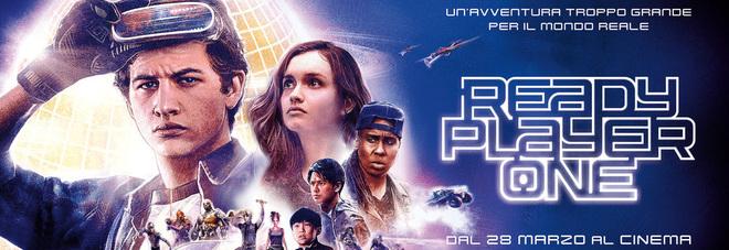 """""""Ready to one"""", il nuovo film di Spielberg gratis per i lettori di Quotidiano"""