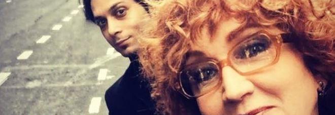 Fiorella Mannoia, il primo selfie con il fidanzato più giovane di 26 anni