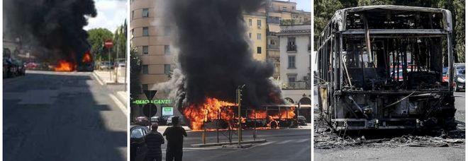 Roma, esplode un altro autobus: panico tra i passeggeri in via Appia Nuova