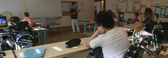 Uno studente disabile