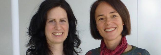 Ilenia Papa e la professoressa che l'ha guidata nella ricerca condotta in Australia, Carola Vinuesa
