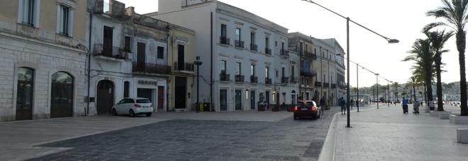 Il Lungomare di Brindisi: già deserto
