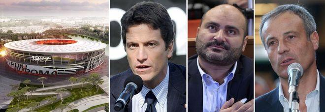 Arresti stadio Roma Tor di Valle: ecco i nomi