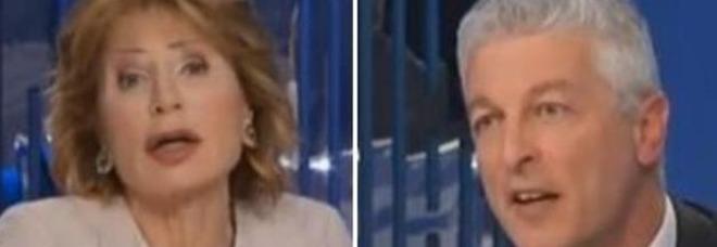 Lilli Gruber bacchetta il commissario antimafia Morra: «Io faccio domande, lei mi deve rispondere»