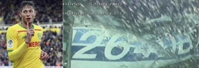 Emiliano Sala è morto, è suo il corpo ritrovato tra i rottami dell'aereo