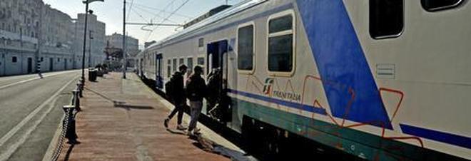 Salgono sul convoglio per Roma ma dimenticano i figli sulla banchina