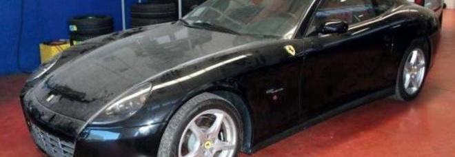 La Ferrari F 137 Ale (612 Scaglietti F1) del 2005