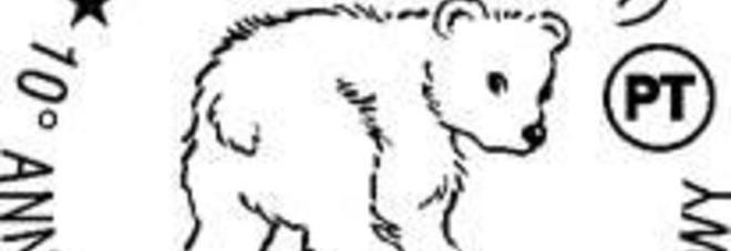 Zoosafari: annullo postale per il decennale della nascita di Orso Snowy