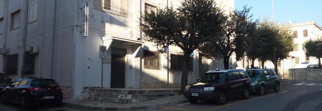 La caserma dei carabinieri di Ceglie